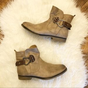 Muk Luks | Faux Fur Lined Booties with Bootstrap